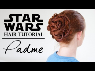 Star Wars Hair - Padmé in the Gladiator Ring