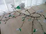 Детские весенние поделки из гофрированной бумаги