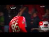 Renato Sanches Fantastic Goal - Benfica vs. Academica 3-0 - Premier Liga - 04/12/2015 [HD]