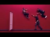 Импровизация «Красная комната»: Парень, провожающий девушку, и гопник. 1 сезон, 2 серия (02)