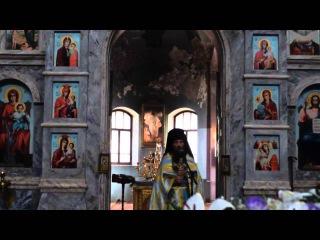Слово игумена Стефана после воскресной Литургии