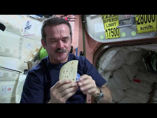 Chris Hadfields Space Kitchen