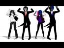 Прикольный танец крипипасты(ммд)