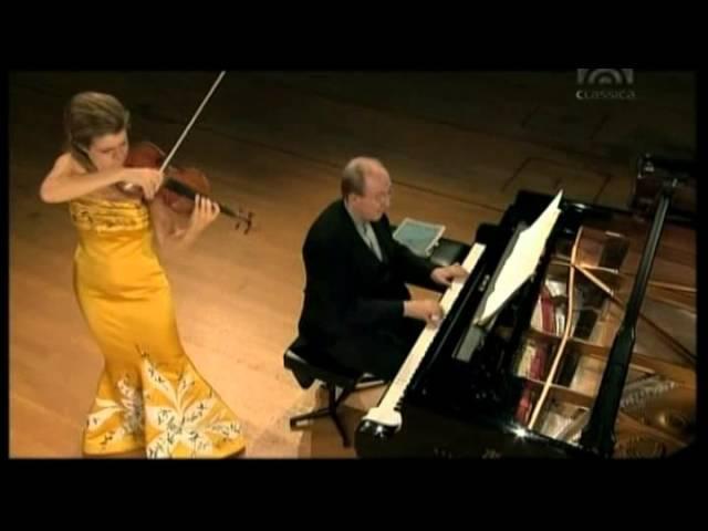 Mozart, Violinsonate 36 F Dur KV 547 Anne Sophie Mutter Violine), Lambert Orkis (Klavier)