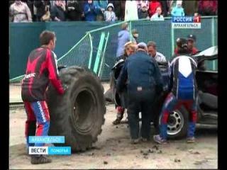 В Архангельске прошло автомобильное шоу и закончилось большим скандалом
