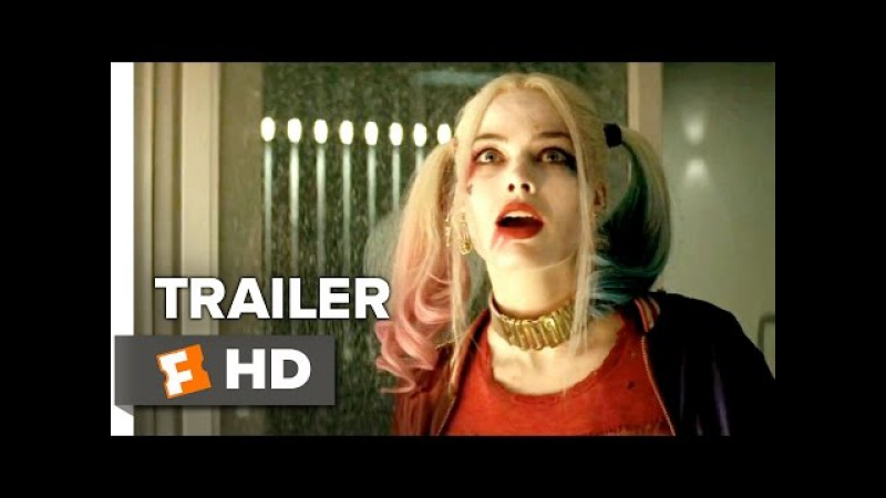 Suicide Squad Official Trailer 1 (2016) - Jared Leto, Margot Robbie Movie HD