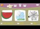 The W Chant   Phonics and Vocabulary   Think Read Write   ELF Learning