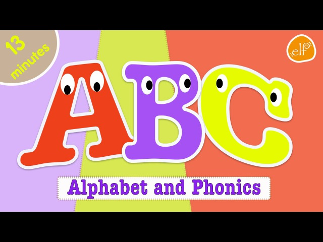 Alphabet Song and ABC Phonics Collection for Kids by ELF Learning - ELF Kids Videos