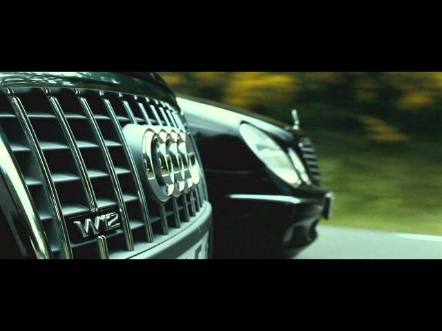 TRANSPORTER 3 - Audi A8 vs. Mercedes E-class [HD]