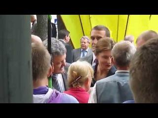Poroshenko at the Constitution Day: goodbyes | Порошенко на День конституции: прощания