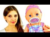 Видео для девочек. Знакомство с Беби Борн. Игры в куклы. Как мама.