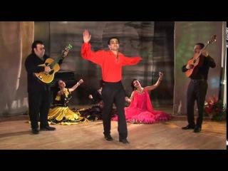 Цыганская чечётка. Танец под цыганскую гитару, чечётка просто супер