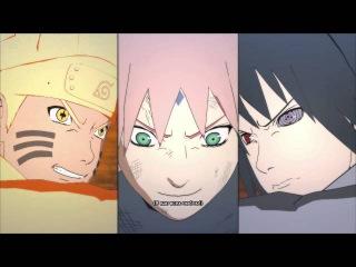 Наруто, Саске и Сакура против Кагуи | Конец Четвертой Мировой войны Шиноби | Naruto Storm 4