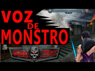 Blood Strike - X1 DE FACA COM VOZ MALIGNA - FT.TOPEIRA NOVA wmv