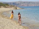Пальмовый пляж Вай. Остров Крит, Греция.