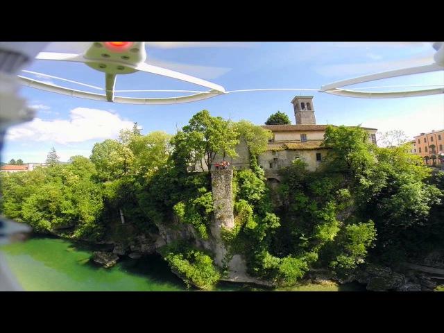Cividale del Friuli vista dall'alto