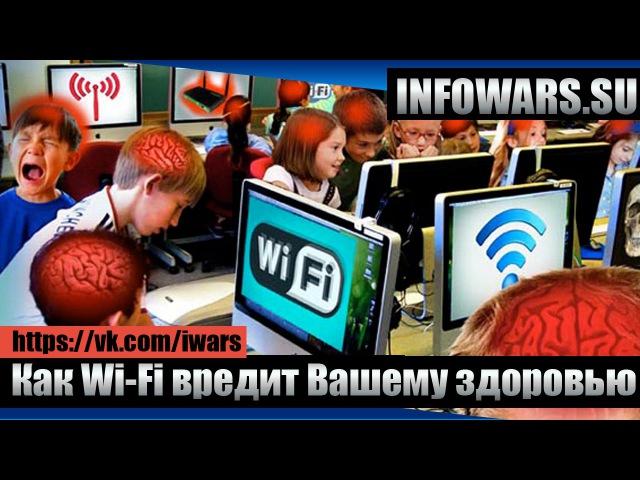 Учёные просят защитить людей от вреда от Wi Fi