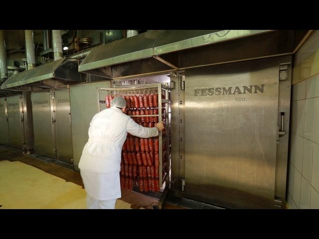 Сделано в Кузбассе HD Производство полукопченой колбасы