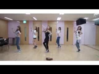 apink ì__ì_´í__í_¬ 'mr.chu' ì__무 ì_°ì_µ ì__ì__ (choreography practice video)