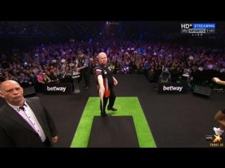 Raymond van Barneveld vs Gary Anderson (2016 Premier League Darts / Week 13)