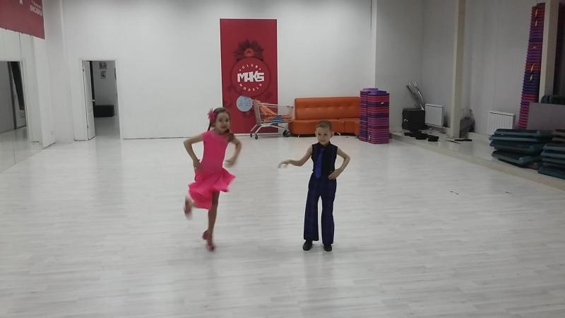 Репетиция танца Буги вуги СТИЛЯГИ