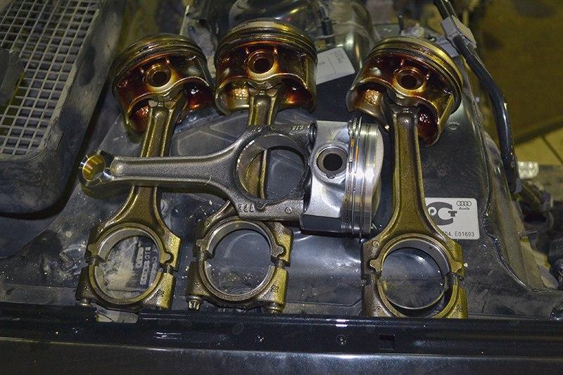 Ремонт двигателя ауди