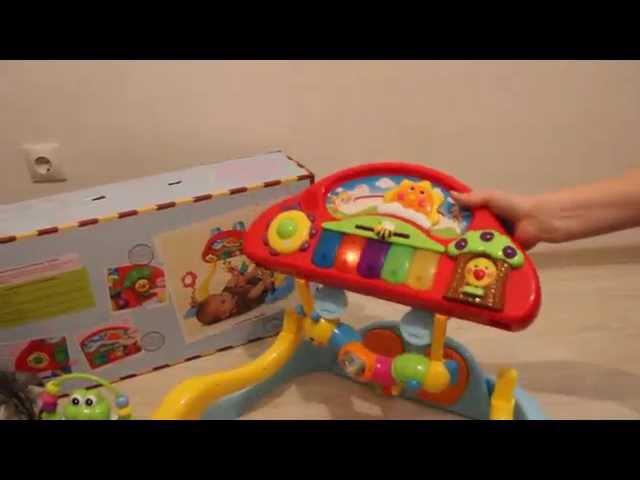 Игровой развивающий центр Huile Toys Фитнесс-пианино