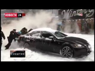 ЧС в США: Снегопад ВЕКА. в Америке Погибли 18 человек 25 01 2016 Новости России США Мира Сегодня