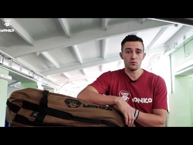 Тренировки бойцов MMA с sandbag