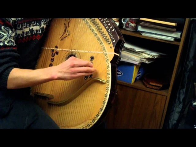 Ярослав Джус 3 - Щедрик. Yaroslav Djus - Carol of the Bells on Bandura