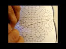 Как навить скань в три нити на коклюшку