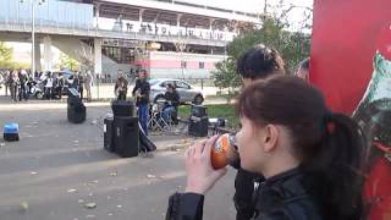 Группа Черный Квадрат в Москве поет песни Цоя Атаман