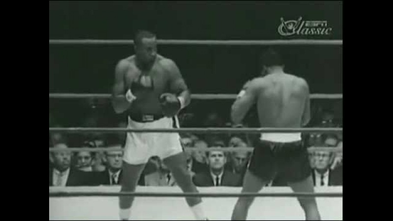 Floyd Patterson Sonny Liston 1