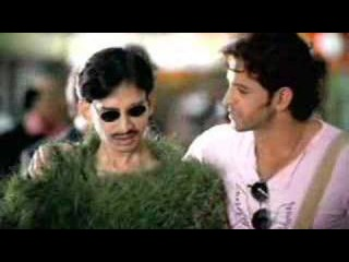 Hrithik Roshan's Indian Cricket World Cup Ad Grass Man