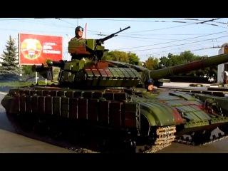 Передвижение колонны военной техники в Приднестровье -