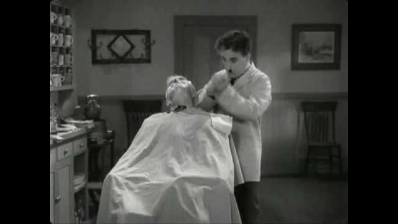 Charlie Chaplin - The Great Dictator - Funny Barber Scene