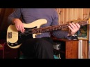 Flatwound vs roundwound strings on a Precision Bass