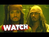 Pirates of the Caribbean At World's End Outtakes, Bloopers, Gag Reel - Johnny Depp
