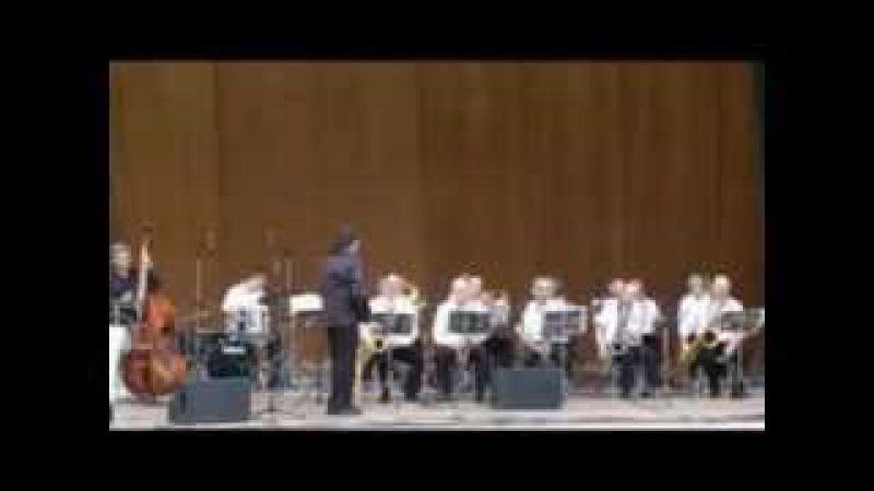 AQUA JAZZ FESTIVAL IN SOCHI 2012 ALEX KANTSBERG,ADAM TERATSUYAN BIG BAND SOCHI