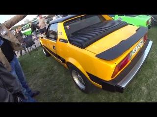 Fiat x1/9 Bertone Ecscluziv Series Скоро в Тест-Драйве обзоре У Толяна Шоховода только зеленый