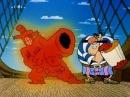 Остров сокровищ мультфильм. Пародия на Рэмбо.