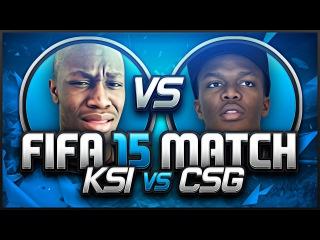 FIFA 15   KSI VS COMEDYSHORTSGAMER