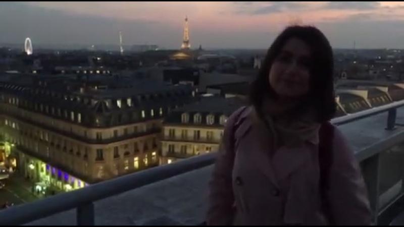 Маша Себова в Париже!
