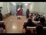 танец деда Мороза и бабы Яги