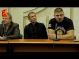 Интервью Александра Волкова и Дениса Смолдарева после боя. Comedy Баттл