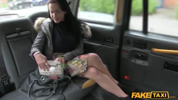 FakeTaxi – Customer Deepthroats Cock For Free Ride – E233