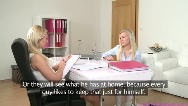 FemaleAgent E304 – Sexy Petite Blonde Seduced By Beautiful Agent