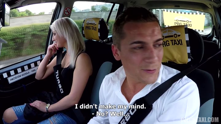 Czech taxi porn kissing, and