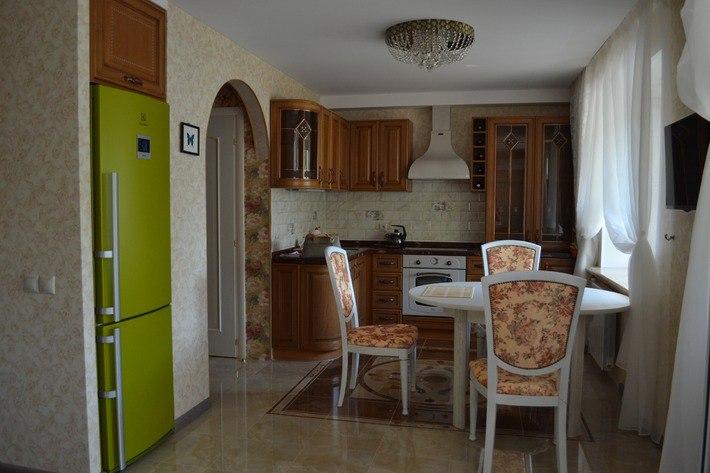 Интерьер квартиры в стиле прованс, площадь не известна.