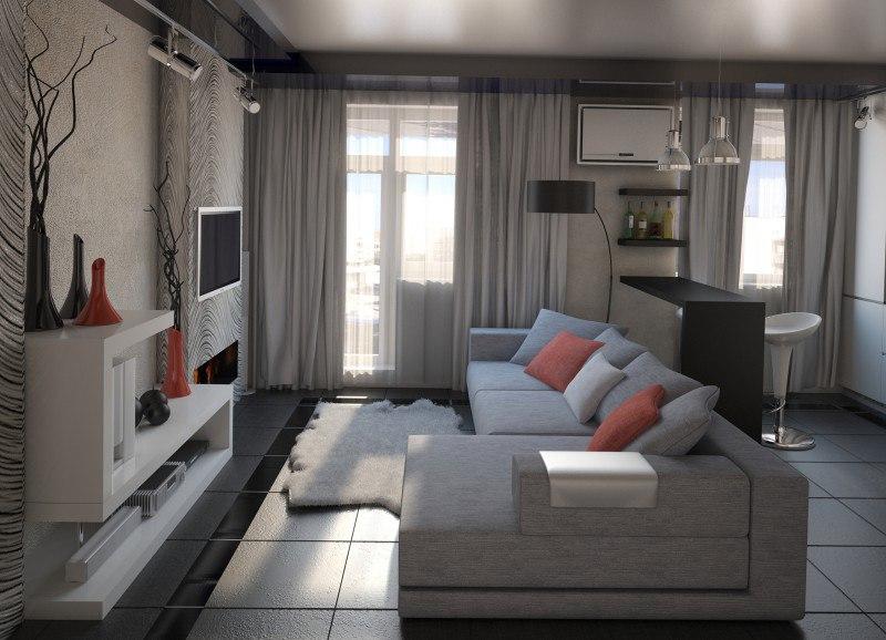 Проект квартиры 30 м.